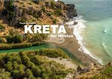 Peter Schickert: Kreta - der Westen (Wandkalender 2022 DIN A2 quer), Kalender