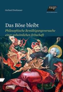 Gerhard Donhauser: Das Böse bleibt, Buch