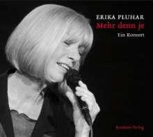 Erika Pluhar: Mehr denn je, CD