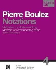 Lea Fink: Pierre Boulez: Notations, Buch