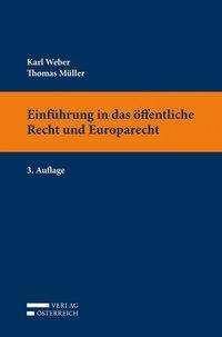 Thomas Müller: Einführung in das öffentliche Recht und Europarecht, Buch