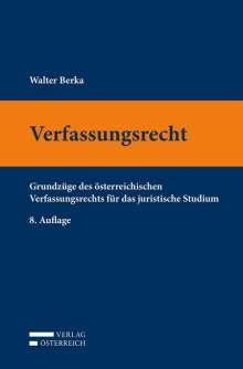 Walter Berka: Verfassungsrecht, Buch