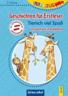 Karin Ammerer: LESEZUG DOPPELBAND/2. Klasse: Geschichten für Erstleser. Tierisch viel Spaß, Buch
