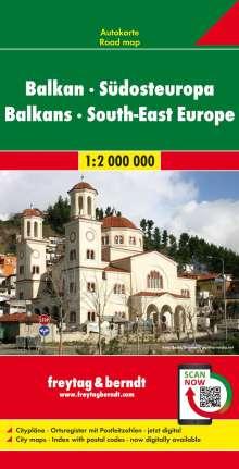 Balkan - Südosteuropa, Autokarte 1:2.000.000, Diverse