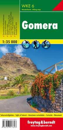 Gomera, Wanderkarte 1:35.000, Diverse