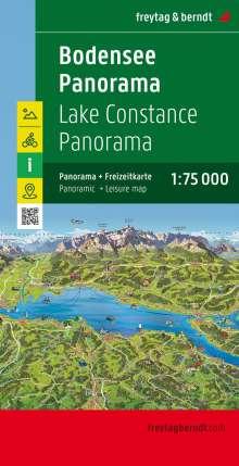 Bodensee Panorama, Freizeitkarte 1:75.000, Diverse