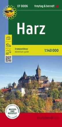 Harz, Erlebnisführer 1:140.000, Diverse
