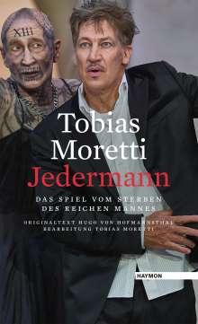Tobias Moretti: Jedermann, Buch