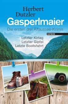 Herbert Dutzler: Gasperlmaier, Buch