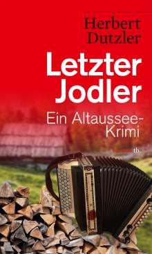 Herbert Dutzler: Letzter Jodler, Buch