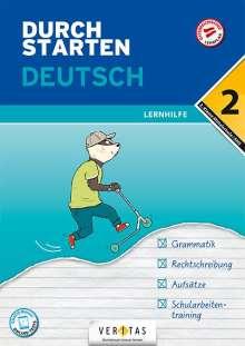 Jutta Hofer: Durchstarten 2. Klasse - Deutsch Mittelschule/AHS - Lernhilfe, Buch