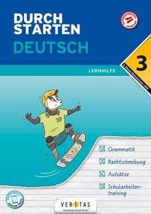Jutta Hofer: Durchstarten 3. Klasse - Deutsch Mittelschule/AHS - Lernhilfe, Buch