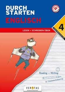 Nicole Eisinger-Müllner: Durchstarten 4. Klasse - Englisch Mittelschule/AHS - Lesen und Schreiben, Buch