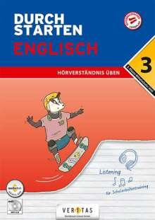 Nicole Eisinger-Müllner: Durchstarten 3. Klasse - Englisch Mittelschule/AH - Hörverständnis, Buch