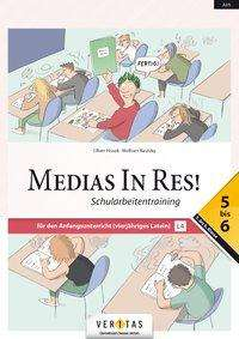 Oliver Hissek: Medias in res! AHS: 5. bis 6. Klasse - Schularbeitentraining für das vierjährige Latein, Buch
