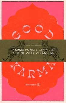 Simone Raihmann: Good Karma, Buch