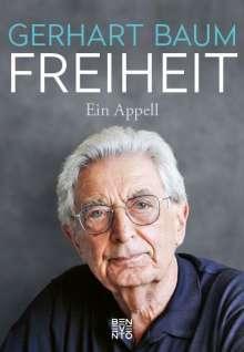 Gerhart Baum: Freiheit, Buch