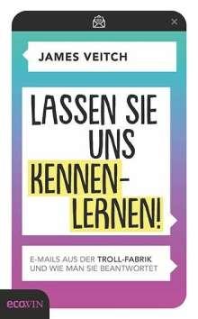 James Veitch: Lassen Sie uns kennenlernen!, Buch