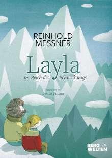 Reinhold Messner: Layla im Reich des Schneekönigs, Buch