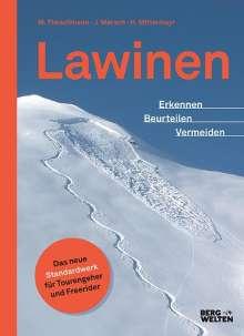 Jan Mersch: Lawinen, Buch