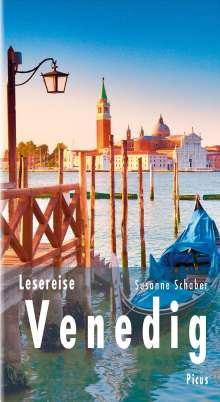 Susanne Schaber: Lesereise Venedig, Buch
