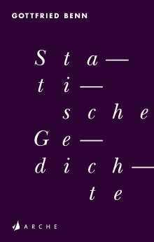 Gottfried Benn: Statische Gedichte, Buch