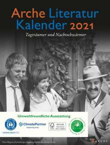 Arche Literatur Kalender 2021, Kalender