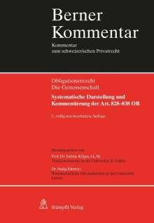 Sabine Kilgus: Berner Kommentar. Kommentar zum schweizerischen Privatrecht / Die Genossenschaft, Buch