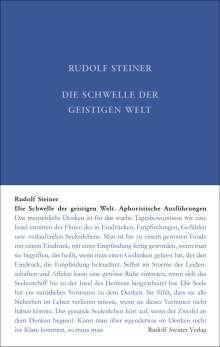 Rudolf Steiner: Die Schwelle der geistigen Welt, Buch