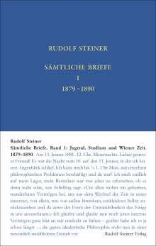 Rudolf Steiner: Sämtliche Briefe, Buch