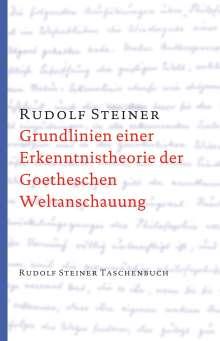 Rudolf Steiner: Grundlinien einer Erkenntnistheorie der Goetheschen Weltanschauung mit besonderer Rücksicht auf Schiller, Buch