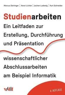 Marcus Deininger: Studienarbeiten, Buch