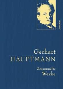 Gerhart Hauptmann: Gerhart Hauptmann - Gesammelte Werke (Iris®-LEINEN-Ausgabe), Buch