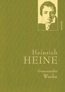 Heinrich Heine: Heinrich Heine - Gesammelte Werke (Iris®-LEINEN-Ausgabe), Buch