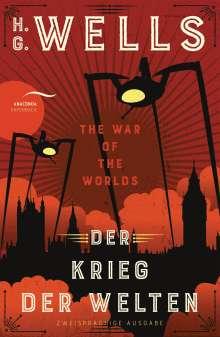 H. G. Wells: Der Krieg der Welten / The War of the Worlds, Buch