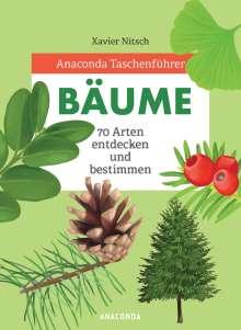 Xavier Nitsch: Anaconda Taschenführer Bäume, Buch