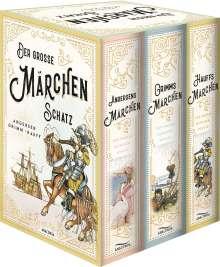 Wilhelm Grimm: Der große Märchenschatz: Andersens Märchen, Grimms Märchen, Hauffs Märchen, Buch
