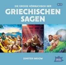 Die große Hörbuchbox der griechischen Sagen, 6 CDs