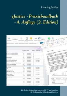 Henning Müller: eJustice - Praxishandbuch, Buch