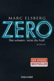 Marc Elsberg: ZERO - Sie wissen, was du tust, Buch