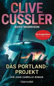 Clive Cussler: Das Portland-Projekt, Buch