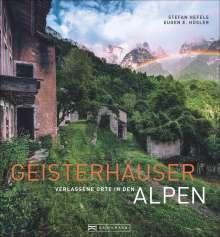 Eugen E. Hüsler: Geisterhäuser, Buch