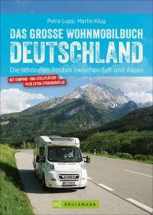 Petra Lupp: Das große Wohnmobilbuch Deutschland, Buch