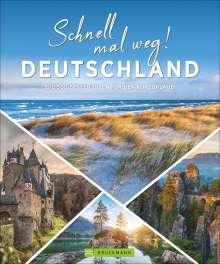 Britta Mentzel: Schnell mal weg! Deutschland, Buch