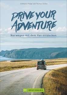 Clémence Polge: Drive your adventure Norwegen mit dem Van, Buch