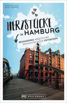 Christine Lendt: Herzstücke in Hamburg, Buch