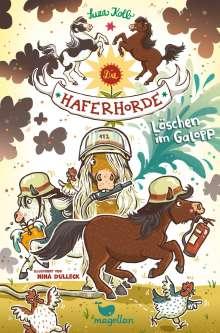 Suza Kolb: Die Haferhorde - Löschen im Galopp - Band 14, Buch
