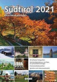 Wochenkalender Südtirol 2021, Kalender