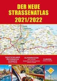 Straßenatlas 2021/2022 für Deutschland und Europa, Buch
