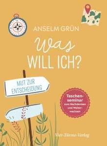 Anselm Grün: Was will ich?, Buch